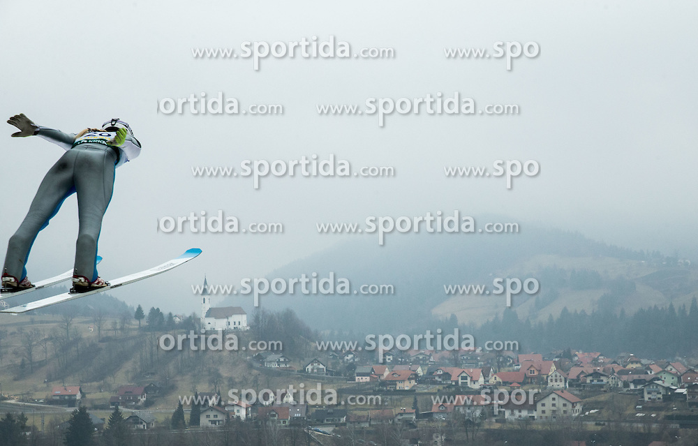 GERAGHTY-MOATS Tara (USA)  during 2nd Round at Day 2 of World Cup Ski Jumping Ladies Ljubno 2017, on February 12, 2016 in Ljubno ob Savinji, Slovenia. Photo by Vid Ponikvar / Sportida