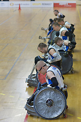 France V Finland at the 2016 IWRF Rio Qualifiers, Paris, France