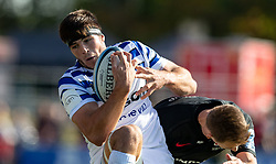 Baths' Josh Bayliss in action during the Gallagher Premiership match at Allianz Park, London.