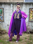 Stuart Auld at the Purple Party 2018