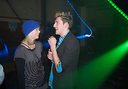 RUBY WARRINGTON; HENRY HOLLAND, Sony BRAVIA World First - launch party. The Tramshed, 6-8 Garden Walk, Shoreditch London. 29 January 2009 *** Local Caption *** -DO NOT ARCHIVE-© Copyright Photograph by Dafydd Jones. 248 Clapham Rd. London SW9 0PZ. Tel 0207 820 0771. www.dafjones.com.<br /> RUBY WARRINGTON; HENRY HOLLAND, Sony BRAVIA World First - launch party. The Tramshed, 6-8 Garden Walk, Shoreditch London. 29 January 2009