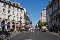 Rue La Fayette Paris France in May 2008