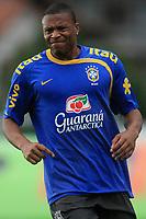 20090325: TERESOPOLIS, BRAZIL – Brazil National Team preparing match against Equador, at Teresopolis training center. In picture: Julio Baptista. PHOTO: CITYFILES