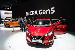 Launch of 5th generation Nissan Micra at Paris Motor Show 2016