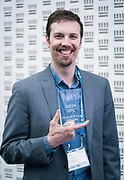 Brent Benner from GrowthChart Records at the Wisconsin Entrepreneurship Conference at Venue 42 in Milwaukee, Wisconsin, Wednesday, June 5, 2019.