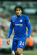 Reece James (#24) of Chelsea during the Premier League match between Newcastle United and Chelsea at St. James's Park, Newcastle, England on 18 January 2020.