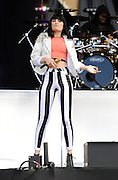 24.JUNE.2012. LONDON<br /> <br /> JESSIE J PERFORMS ON STAGE AT THE 2012 HACKNEY WEEKEND IN EAST LONDON.<br /> <br /> BYLINE: EDBIMAGEARCHIVE.CO.UK<br /> <br /> *THIS IMAGE IS STRICTLY FOR UK NEWSPAPERS AND MAGAZINES ONLY*<br /> *FOR WORLD WIDE SALES AND WEB USE PLEASE CONTACT EDBIMAGEARCHIVE - 0208 954 5968*