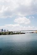 Bridge to Penang island, Malaysia. Eastern & Oriental Train