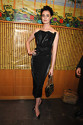 ERIN O'CONNOR at a party hosted by Mulberry to celebrate the publication of The Meaning of Sunglasses by Hadley Freeman held at Mulberry 41-42 New Bond Street, London on 14th February 2008.<br />