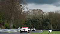 Lanan Racing #51 Ginetta G55 GT4 Alex Reed/David Pittard GT4 Silver during Friday testing for the British GT Championship as part of the BRDC British F3/GT Championship Meeting at Oulton Park, Little Budworth, Cheshire, United Kingdom. April 14 2017. World Copyright Peter Taylor/PSP. Copy of publication required for printed pictures.  Every used picture is fee-liable. http://archive.petertaylor-photographic.co.uk
