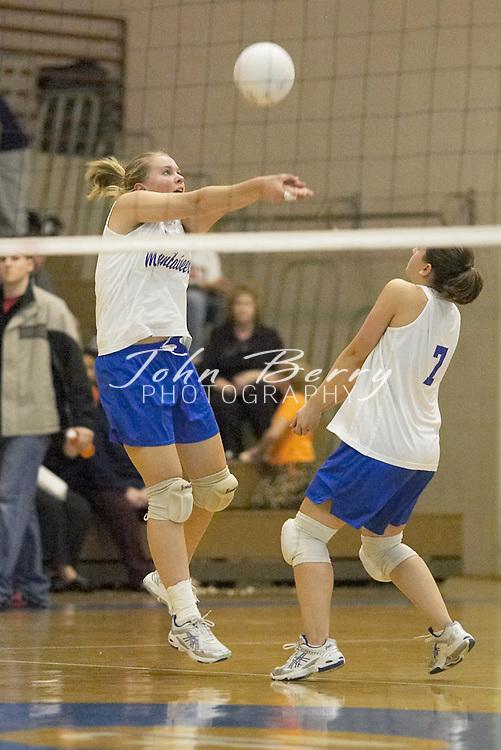 MCHS Varsity Volleyball..vs Clarke..October 28, 2004