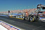 NHRA drag races at Memphis Motorsports Park Army top fuel car driven by Tony Schumacher.