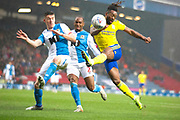 Birmingham City midfielder Jacques Maghoma in action during the EFL Sky Bet Championship match between Blackburn Rovers and Birmingham City at Ewood Park, Blackburn, England on 26 December 2019.