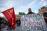 Antifascismo e neo-fascismo: manifestazioni a Palermo