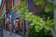The Zephyr Wine Bar in downtown Marquette, Michigan.
