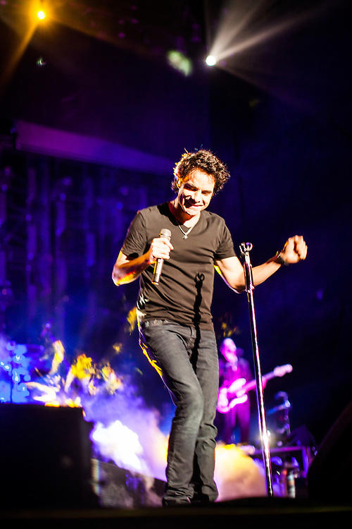 On Saturday August 10, 2013, Train played the Sleep Train Amphitheatre in Wheatland, California near Sacramento.