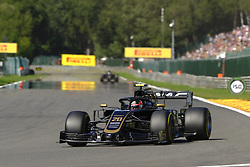 August 30, 2019, Spa Francorchamps, Belgium: Haas Driver KEVIN MAGNUSSEN (DEN) in action during the second free practice session of the Formula one Belgian Grand Prix at the SPA Francorchamps circuit - Belgium (Credit Image: © Pierre Stevenin/ZUMA Wire)
