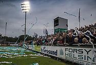 FODBOLD: Tilskuere før kampen i ALKA Superligaen mellem FC Helsingør og OB den 24. juli 2017 på Helsingør Stadion. Foto: Claus Birch