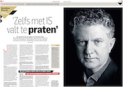 Jonathan Powell for Beeldredacteur AD Newspaper,  Netherlands