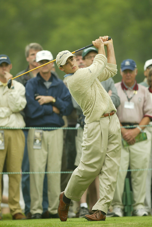Jonathan Byrd..2003 U.S. Open..First Round..Olympia Fields CC..Chicago, IL..Thursday June 12 2003..photograph by Darren Carroll