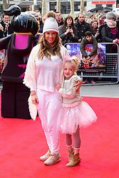 Katie Price (L) and daughter Princess Andre attends The Lego Movie VIP film screening of CGI adventure, starring some of Lego's most popular figures, which features the voices of Elizabeth Banks, Chris Pratt, Will Arnett and Morgan Freeman, at Vue West End, London, United Kingdom. Sunday, 9th February 2014. Picture by Nils Jorgensen / i-Images<br /> File Photo - Katie Price is to divorce husband Kieran Hayler after claiming he has been having an affair with her best friend. Photo filed Wednesday 7th May 2014.