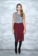 Charlotte Ronson poses at her presentation during the Mercedes-Benz Fall/Winter 2015 shows at the Pavilion in Lincoln Center in New York City, New York on February 13, 2015.