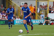 AFC Wimbledon midfielder Anthony Hartigan (8) dribbling during the EFL Sky Bet League 1 match between AFC Wimbledon and Rotherham United at the Cherry Red Records Stadium, Kingston, England on 3 August 2019.