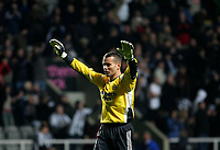 Photo: Andrew Unwin.<br />Newcastle Utd v Birmingham City. The Barclays Premiership. 05/11/2005.<br />Newcastle's goalkeeper, Shay Given.