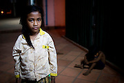 1,500 children live and work on the streets in siem reap they faced alot of risk  in siem reap just like Child Rights abuses, HIV/AIDS, exploitation including sexual abuse, drug and alcohol issues.Urban poverty forces many children to work in order to supplement the family's income.All these factors have lead to increased urban migration and therefore an increase in the population of street living children, street working children and street living families. lost in live is profile when they work at night, how they feeling when they should be in their house at night and study.