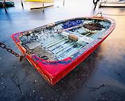 Old Dinghy, Black Neds Bay, Lake Macquarie, Australia