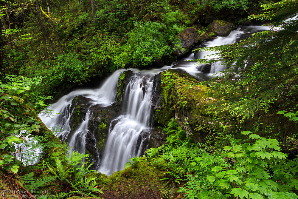 Steelhead Falls near the Hayward Reservoir Trail in Mission, British Columbia, Canada