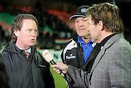 17-02-2009 TOINE VAN PEPERSTRATEN<br /> Toine van Peperstraten in een interview met beide trainers Mario Been en Martin Jol voor NEC - HSV voor de Uefacup <br /> <br /> Foto: Geert van Erven