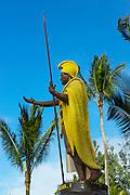 King Kamehameha Statu, Kapaau, Noth Kohala, Island of Hawaii
