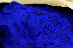Blue pigment is added to a new batch of paint at the AkzoNobel paint production facility in Sassenheim, the Netherlands, Wednesday, Dec. 22, 2010. Akzo Nobel NV, the world?s biggest paint maker, reported a 21 percent increase in third quarter net income to 238 million euros. (Photo © Jock Fistick)