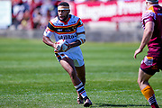 Bradford Bulls Colton Roche (11) receives the ball during the Kingstone Press Championship match between Batley Bulldogs and Bradford Bulls at the Fox's Biscuits Stadium, Batley, United Kingdom on 16 July 2017. Photo by Simon Davies.