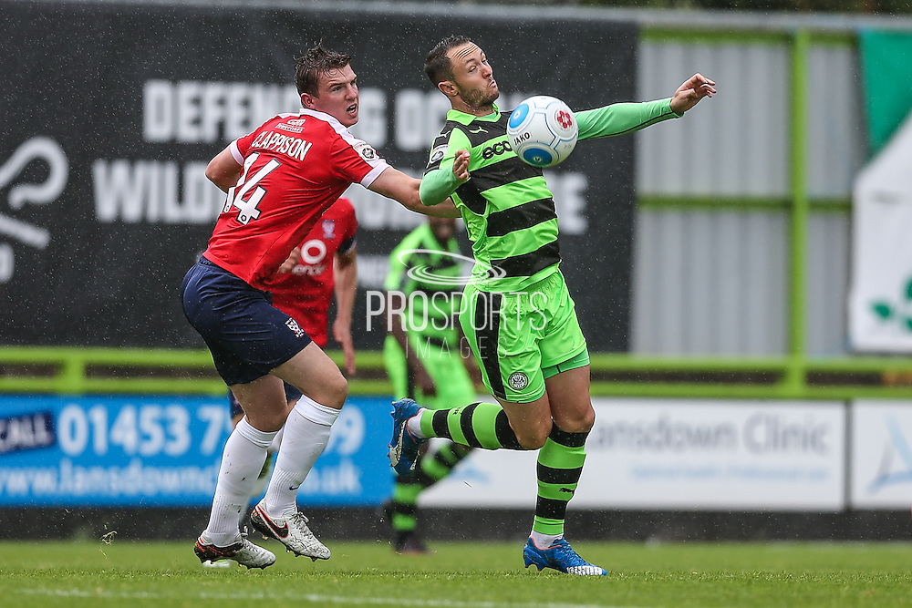 Forest Green Rovers Rhys Murphy (39) controls the ball during the Vanarama National League match between Forest Green Rovers and York City at the New Lawn, Forest Green, United Kingdom on 20 August 2016. Photo by Shane Healey.