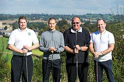 Billy Bodin of Bristol Rovers joins Team L&F Jones as they take part in the annual Bristol Rovers Golf Day - Rogan Thomson/JMP - 10/10/2016 - GOLF - Farrington Park - Bristol, England - Bristol Rovers Golf Day.