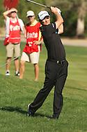 18.01.2013 Abu Dhabi HSBC Golf championship european tour, round 2, justin Rose.