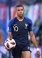 FUSSBALL  WM 2018  Halbfinale  ------- Frankreich - Belgien     10.07.2018 Kylian Mbappe (Frankreich)