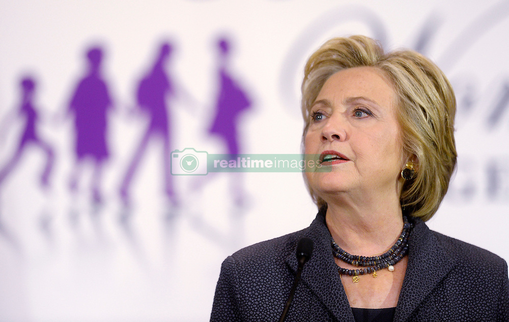 2016 Democratic nominee for president of the United States Hillary Clinton speaks at the Black Women's Agenda Annual Symposium Workshop & Awards Luncheon , September 16 2016, in Washington, DC. Photo by Olivier Douliery/Abaca