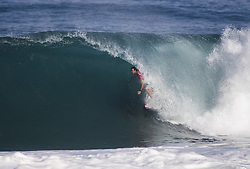 December 11, 2017 - Banzai Pipeline, HI, USA - BANZAI PIPELINE, HI - DECEMBER 11, 2017 - Jordy Smith of South Africa completes in the first round of the Billabong Pipe Masters. (Credit Image: © Erich Schlegel via ZUMA Wire)