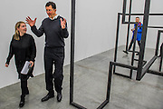 Run 2016 with Antony Gormley -  Fit, a new exhibition of work in the South Galleries of White Cube Bermondsey. The piece is divided into 15 discrete chambers to create a series of dramatic physiological encounters in the form of a labyrinth.
