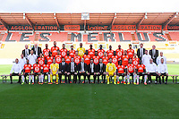 Team of Lorient during the Fc Lorient photocall for the season 2016/2017 in Lorient on September 16th 2016<br /> Photo : Philippe Le Brech / Icon Sport