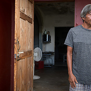 AUGUST 27, 2018--CATA&ntilde;O---PUERTO RICO--<br /> Felix D. Rivera Hernandez, 67, talks about his life in the Barrio Palmas of Cata&ntilde;o. Rivera claims to be a descendant with documentation to prove it, from the Arawak Indians.<br /> (Photo by Angel Valentin/Freelance)