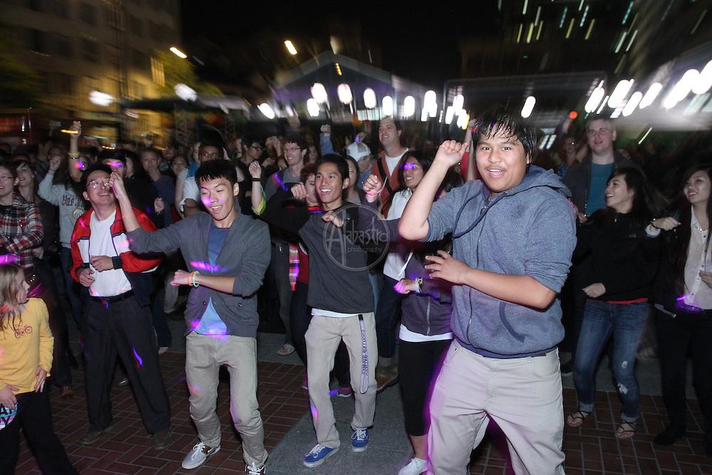 Seattle's Night Market & Moon Festival 2012.  JK Pop.