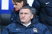 Coventry City Manager Tony Mowbray  during the Sky Bet League 1 match between Coventry City and Colchester United at the Ricoh Arena, Coventry, England on 29 March 2016. Photo by Simon Davies.
