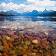 Lake McDonald view of Glacier National Park.