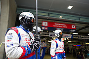 29th October - 1st November 2015. World Endurance Championship. 6 Hours of Shanghai.  Shanghai International Circuit, China. Toyota mechanics