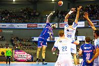 Jeremy Suty - 01.04.2015 - Toulouse / Cesson Rennes - 19eme journee de Division 1<br />Photo : Manuel Blondeau / Icon Sport