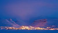 Longyearbyen, Spitsbergen, Svalbard